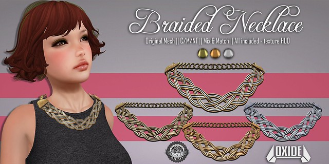 OXIDE Braided Necklace