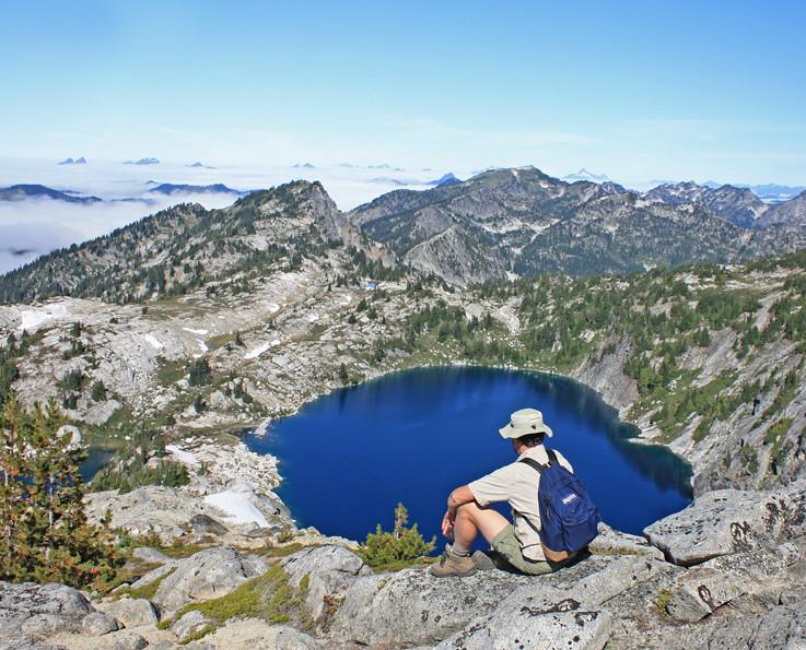 granite mountain upper robin lake washington state flickr