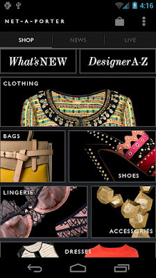 Net-A-Porter | by Mobile Design Pattern Gallery