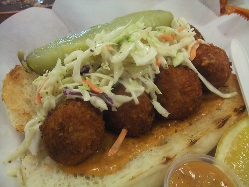 Crab Cake Po Boy | by swampkitty