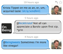 Twitter Conversation with Nicholas Kristof | by On Being