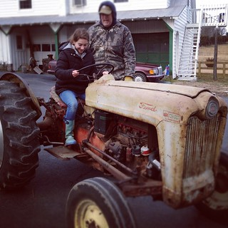 first tractor driving lessons | by MollyBalint