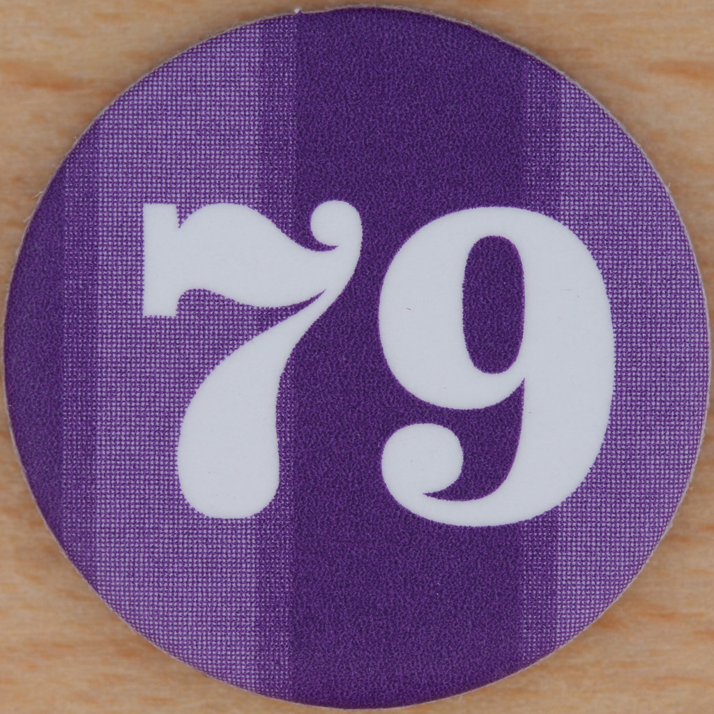 ... M&S Purple Bingo Number 79 | by Leo Reynolds