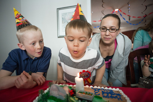 Eli Blowing Out Candles | by goingslowly