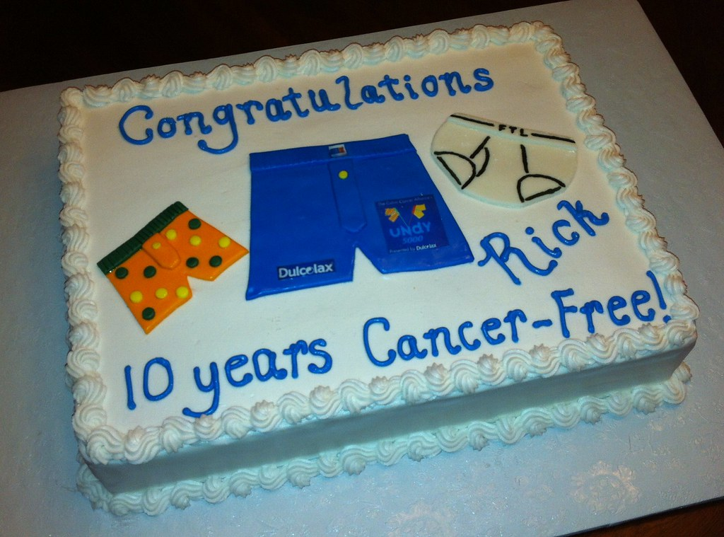 Underwear Theme Cake For Colon Cancer Free Party Charlie Cakes