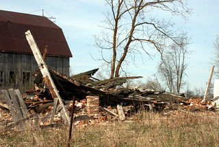 Collapsed House, Carmel Road, Stirling, ON_8352 | by Bobolink