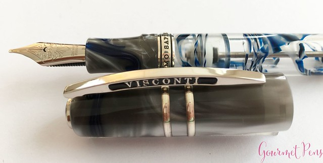Review Visconti Homo Sapiens London Fog Fountain Pen @AppelboomLaren16