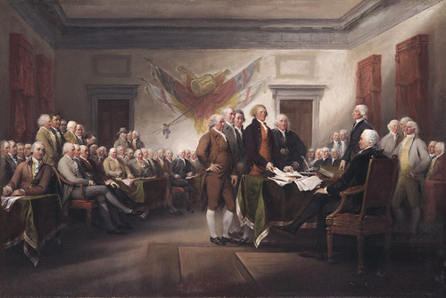 John Trumbull: The Declaration of Independence