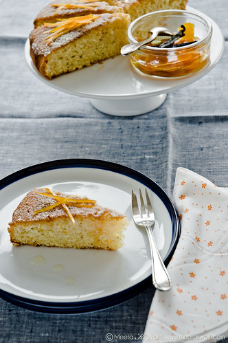 OrangeVanillaSemolinaCake-0021-WM | by Meeta Wolff @ What's For Lunch, Honey?