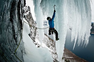 GORE-TEX® Athlete Ines Papert climbing | by GORE-TEX® Products