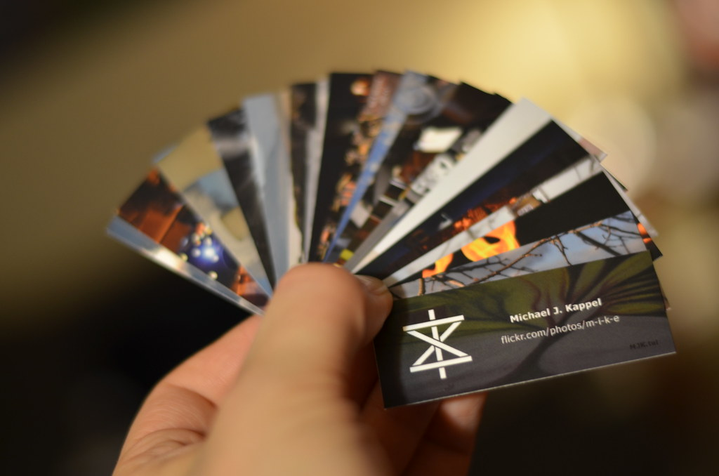 Flickr Business Cards | My best custom designed Mini Busines… | Flickr
