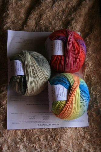 Chroma worsted Paperback Guppy and U-Pick 2 | by PresenceOfAbsence