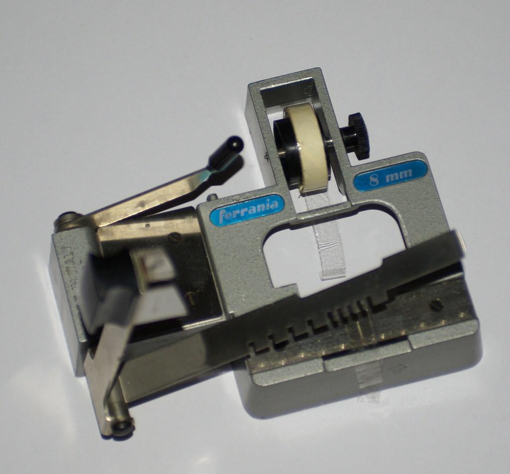CIR - Ferrania standard 8mm film splicer | ralph stephenson