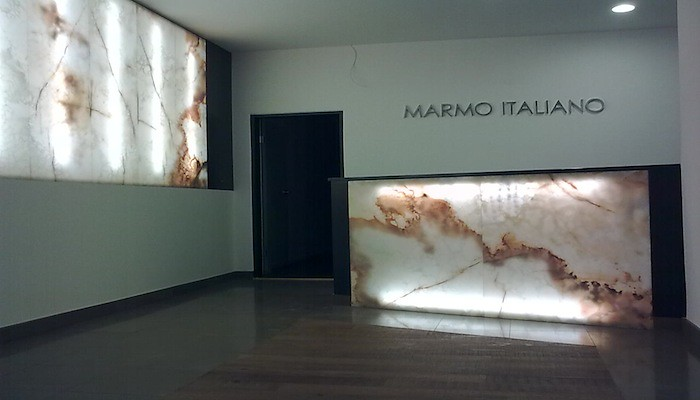 Onyx Hinterleuchtet marmo italiano natursteine showroom work in progress flickr