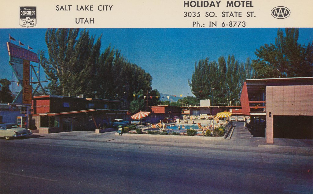 Holiday Motel - Salt Lake City, Utah