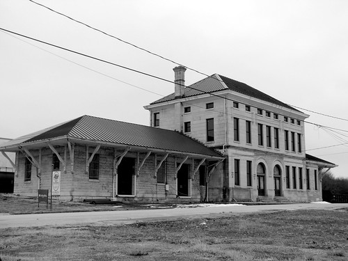 Columbia, TN Union Station (b&w)