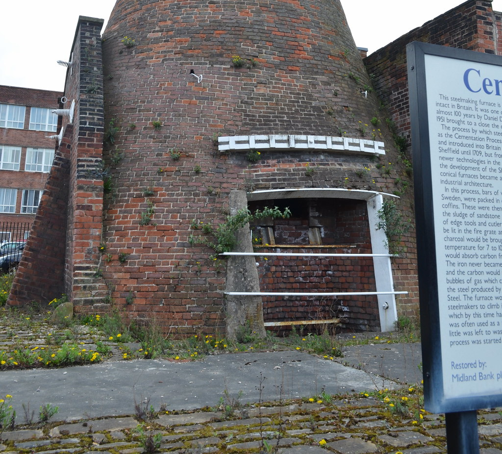 Cementation Furnace Sheffield The Only Surviving One In T Flickr