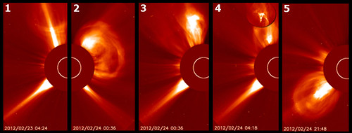 Five Solar Eruptions in Two Days – CME On the Way | by NASA Goddard Photo and Video