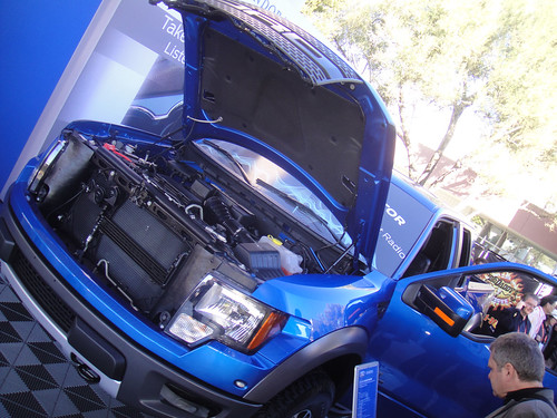 CES 2012 - Ford Raptor F150 truck | by Doug Kline