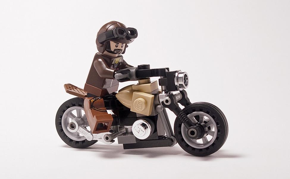 Как сделать лего мотоцикл видео