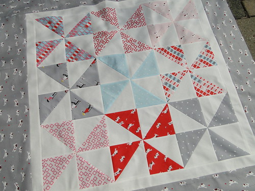 Sherbet Pips Quilt Voor Hilde All Fabric Used Are