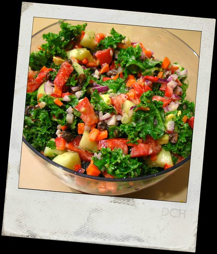 Weekend Glow Kale Salad"