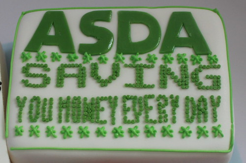 asda bargains birthday cake pauls creative cakes flickr. Black Bedroom Furniture Sets. Home Design Ideas