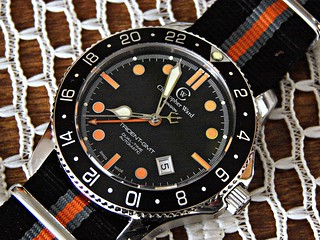 Christopher Ward C60 Trident GMT C60-GMT-SKKCO2 | by montanaman1