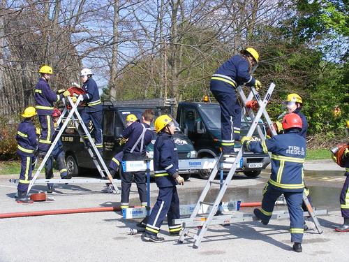 1508 - Cheshire FRS Fire & Rescue Service - Cadets - Training Exercise | by Call the Cops 999
