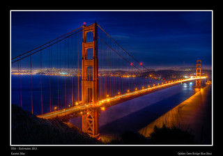 Golden Gate Bridge Blue Hour | by m@yphotos