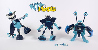 WTF Mixels - Scratty, Whistler and Stumpy | by fujiia