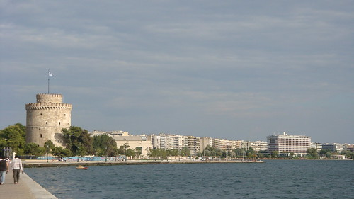White Tower and seaside of Thessaloniki | by Alexanyan