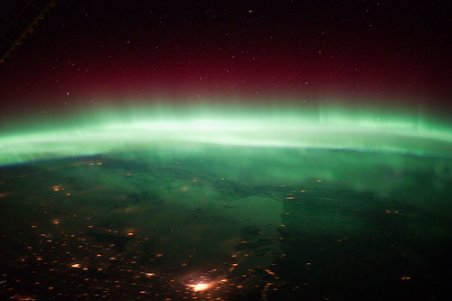 Aurora Borealis Over Canada (NASA, International Space Station, 01/25/12) | by NASA's Marshall Space Flight Center