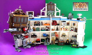 Albinus Cabinet  - Expanded Edition | by V&A Steamworks - Guy HImber