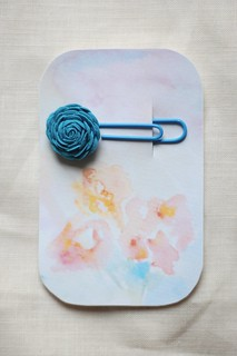watercolour gift tags | by this lyre lark