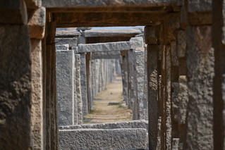Ancient marketplace of Hampi | by Vive le Roi