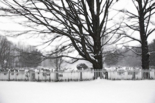 Cemetery and Fence | by jpsphoto