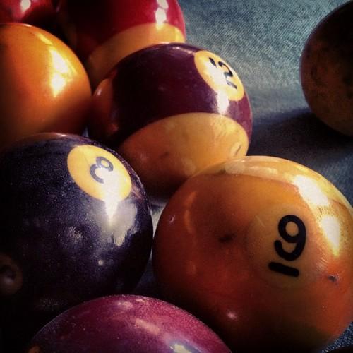 Pool Table Balls Scattered Pool balls | La...