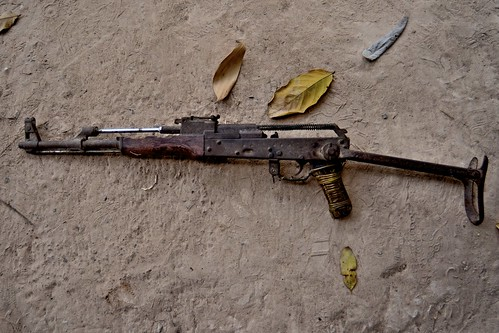 khmer rouge assault rifle, siem reap, cambodia. | by instantly bent