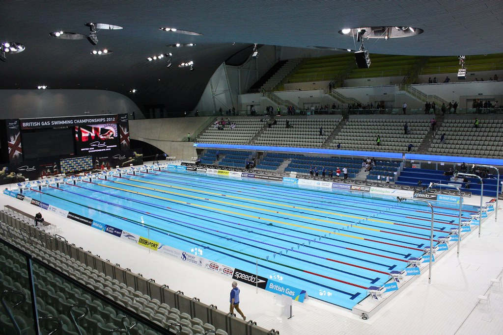 london olympic swimming pool for the london 2012 olympics by sum_of_marc - Olympic Swimming Pool 2012