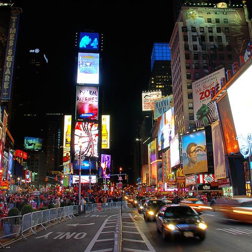 Times square on christmas day new york usa copyrig for Christmas day in new york