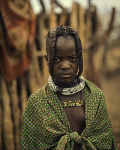 Young Himba Girl Follow Me Website Facebook Google