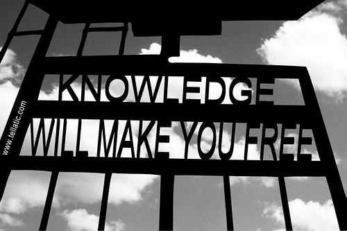 Knowledge will make you free | by tellatic