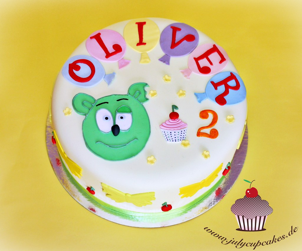 Gummy Bear Birthday Cake Youtubewatchvastisottc Flickr