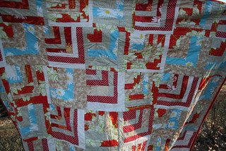 Half Cabin Quilt | by betty_whoosh