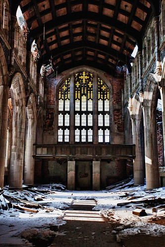 A Sunday Visit To An Abandoned Church | by swlundphoto