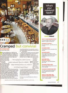 Gavin Friday's Weekend Tipple - Dubliner Magazine 15-3-2012 | by GavinFriday.com