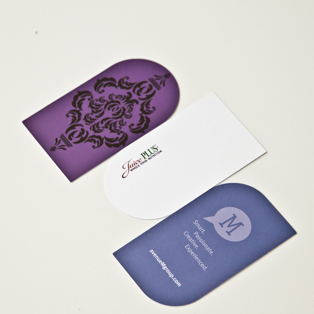 custom shaped business card by lecardsprint - Custom Shaped Business Cards