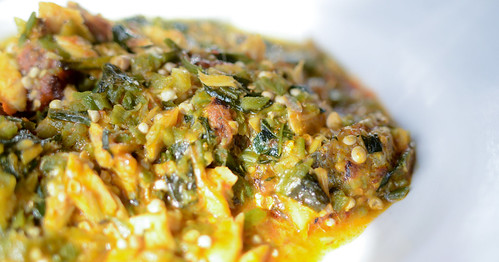 Stomach & Ocra Stew N is for Nigeria | by The Hungry Cyclist