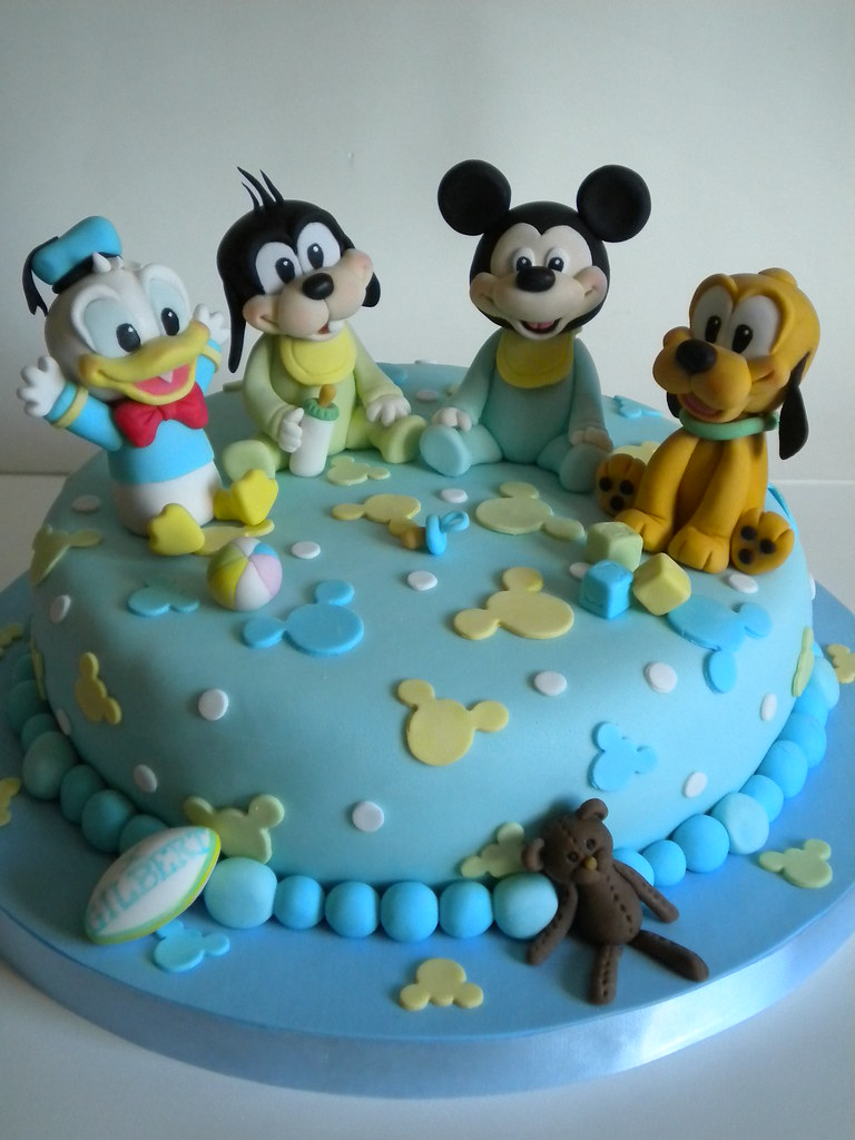 torta disney bebe by pastelera bakery shop - Disney Bebe